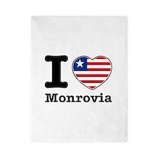I love Monrovia Twin Duvet