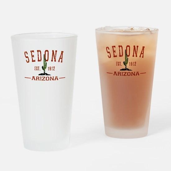 Sedona, AZ - Athletic Drinking Glass