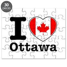 I love Ottawa Puzzle
