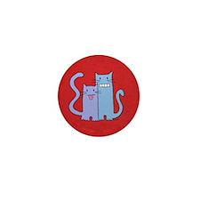 Cat's Tongue Mini Button