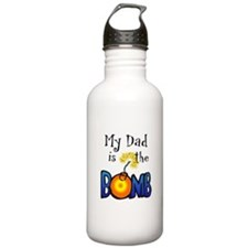 My Dad is the BOMB Water Bottle
