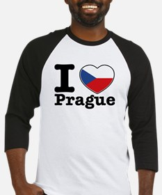 I love Prague Baseball Jersey