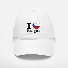 I love Prague Baseball Baseball Cap