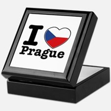I love Prague Keepsake Box