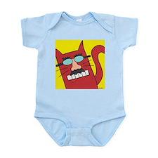 Groucho Cat Infant Creeper