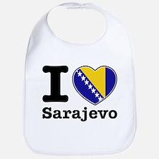 I love Sarajevo Bib