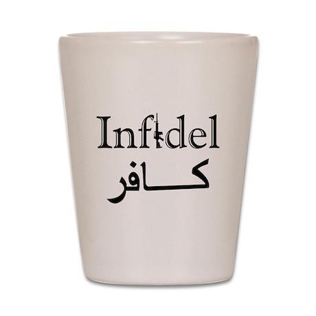 Infidel Shot Glass
