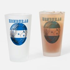 Honduras Soccer Football Drinking Glass