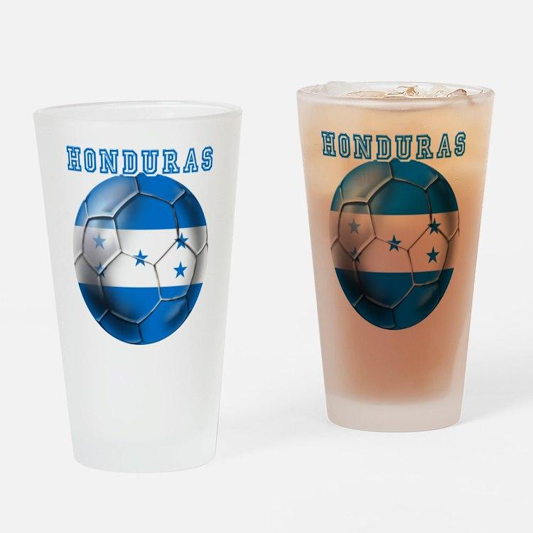 Honduras Soccer Football Drinking Glass
