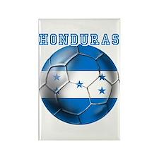 Honduras Soccer Football Rectangle Magnet