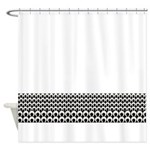 Retro Mod Pattern Shower Curtain