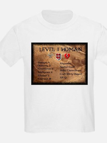 Level One Human Final T-Shirt
