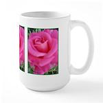 First Rose on Deck Large Mug