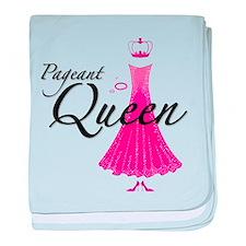 Pageant Queen baby blanket
