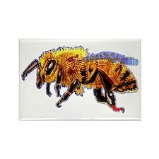 Honey Bee Rectangle Magnet