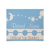 Nurse retired Blankets
