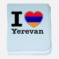 I love Yerevan baby blanket