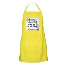 Saint Teresa Love Quote Apron