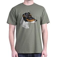 Smooth Fox Terrier Black T-Shirt