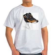 Smooth Fox Terrier Ash Grey T-Shirt
