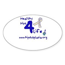 Healthy Hips 4 Life Decal