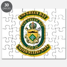 US - NAVY - USS - Green Bay Puzzle