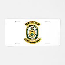 US - NAVY - USS - Green Bay Aluminum License Plate