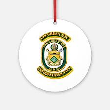 US - NAVY - USS - Green Bay Ornament (Round)