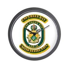 US - NAVY - USS - Green Bay Wall Clock