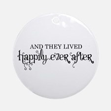Happily Ever After Ornament (Round)