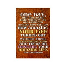 One Day Rectangle Magnet (100 pack)