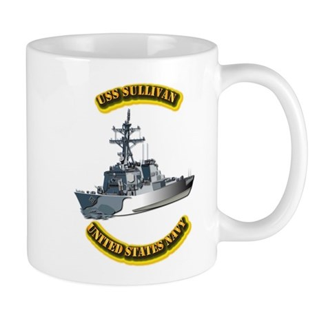 US - NAVY - USS - Sullivan Mug