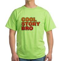 Cool Story Bro Green T-Shirt