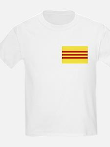 Flag of Vietnamese Freedom Kids T-Shirt