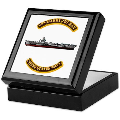 US - NAVY - USS Harry Truman Keepsake Box