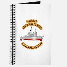 US - NAVY - DDG - 993 Kidd - Destroyer Journal