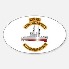 US - NAVY - DDG - 993 Kidd - Destroyer Decal