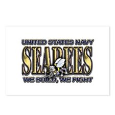 New SectionUS Navy Seabees Go Postcards (Package o