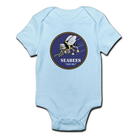 USN Seabees Official Infant Bodysuit