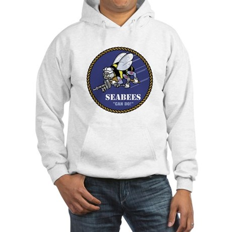 USN Seabees Official Hooded Sweatshirt