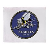 Navy seabees Blankets