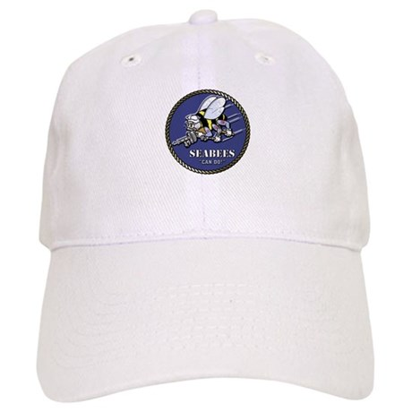 USN Seabees Official Beveled Cap