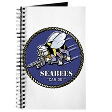 USN Seabees Official Beveled Journal