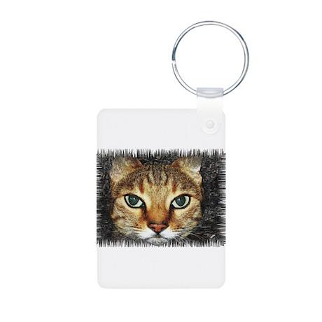 cat Aluminum Photo Keychain