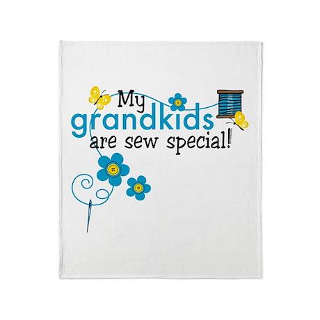Sew Special Grandkids Throw Blanket