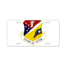 49th Fighter Wing Aluminum License Plate
