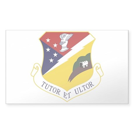 49th Fighter Wing Sticker (Rectangle)