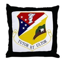 49th Fighter Wing Throw Pillow