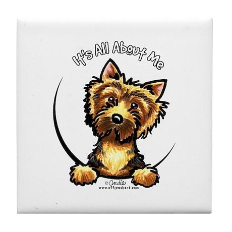 Norwich Terrier IAAM Tile Coaster