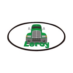 Trucker Leroy Patches